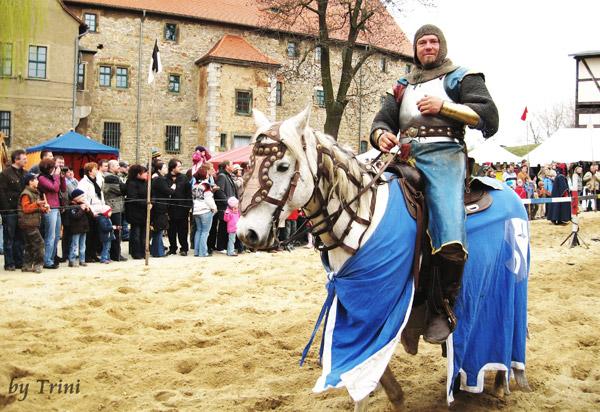 Ritter auf Burg Liebstedt